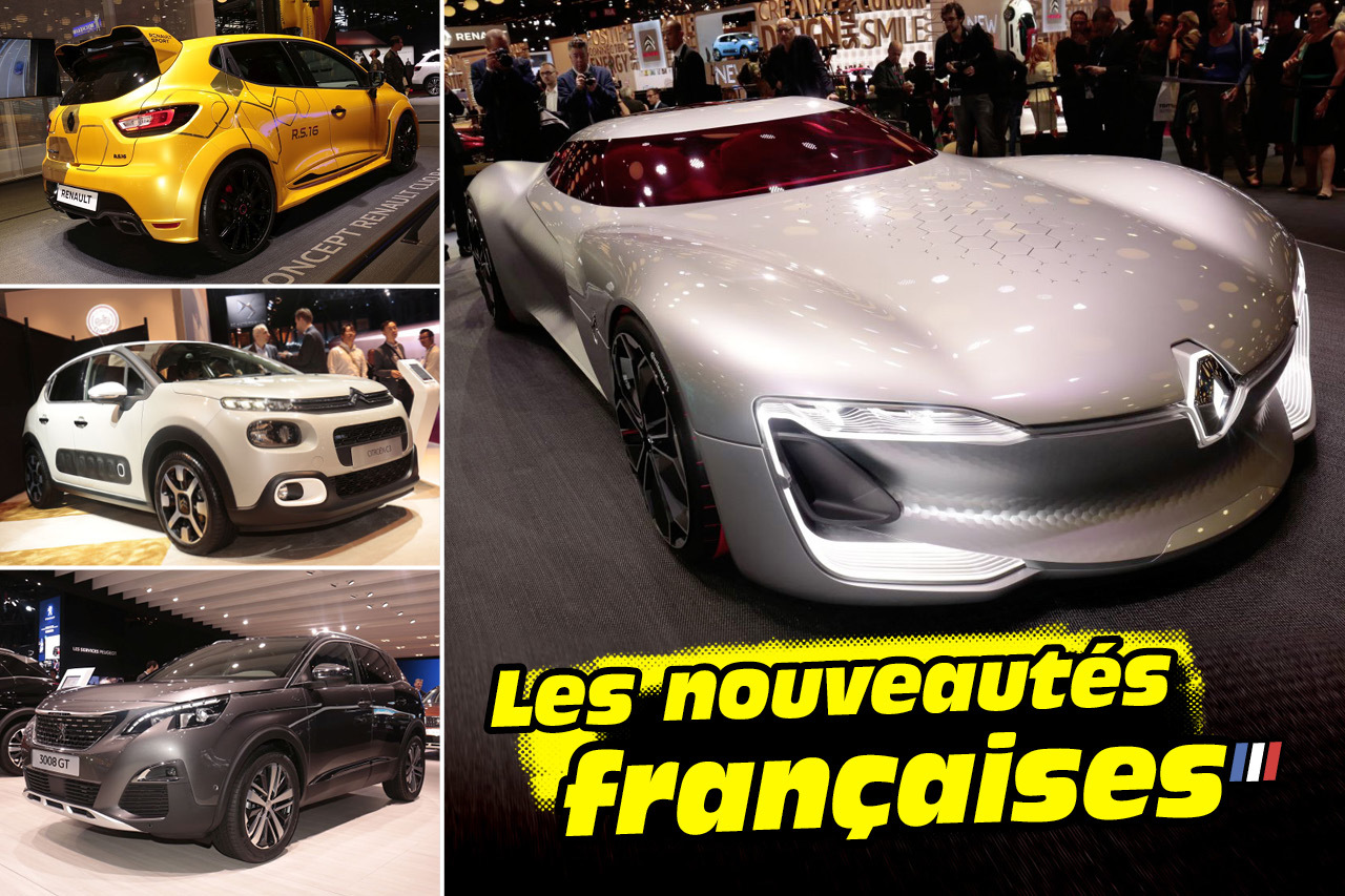 les nouveaut s fran aises du mondial de l 39 automobile 2016 les fran aises du salon de paris. Black Bedroom Furniture Sets. Home Design Ideas