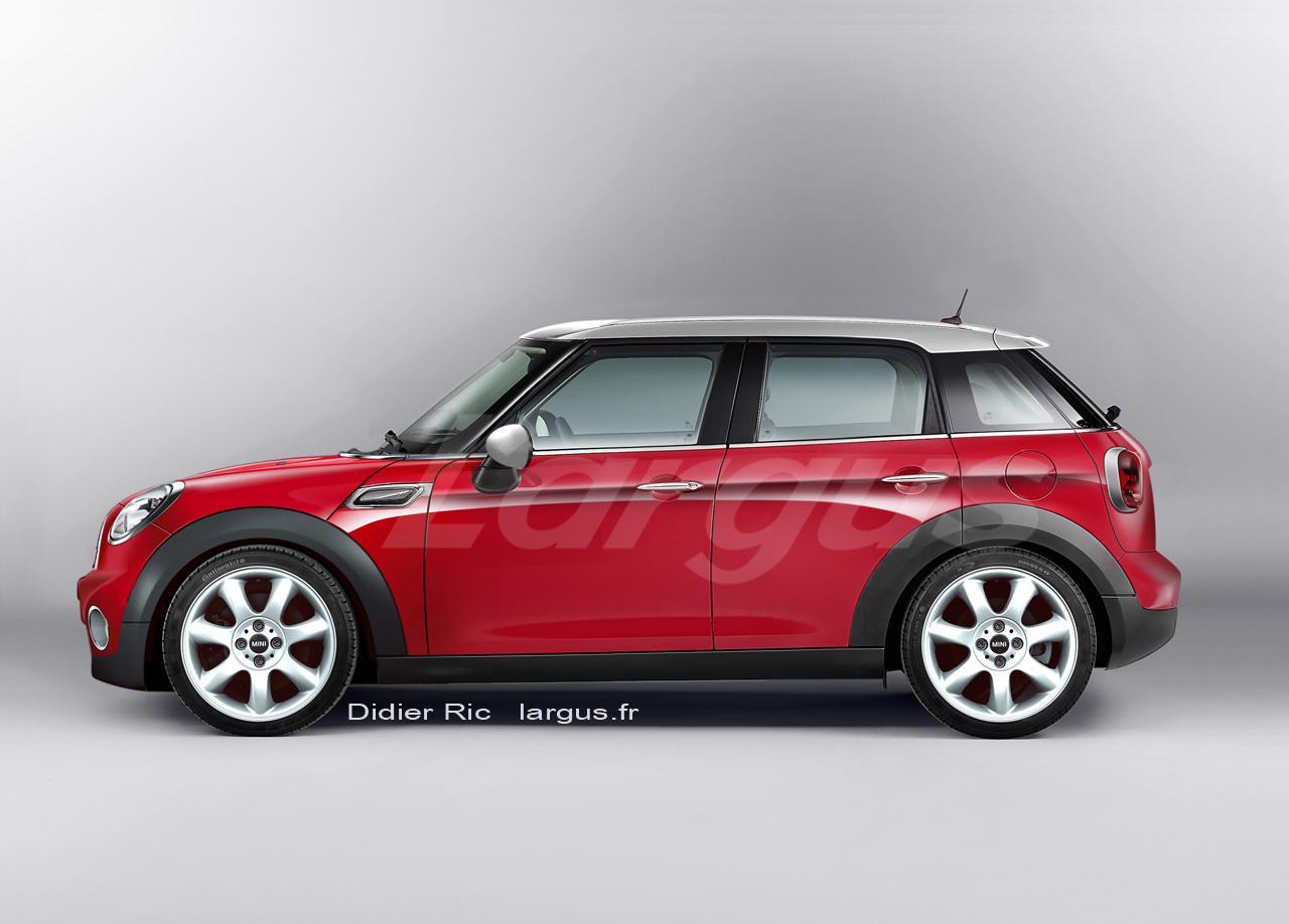 actualit nouveaut la mini s 39 offre une carrosserie cinq portes. Black Bedroom Furniture Sets. Home Design Ideas
