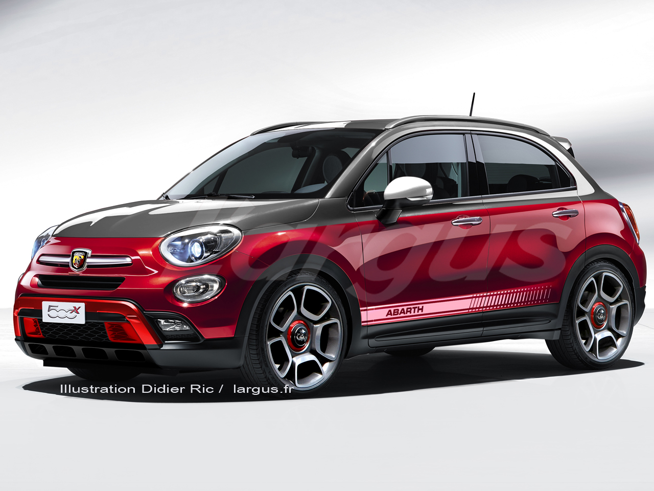 tous les nouveaux suv de 2016 abarth 500x pr sentation. Black Bedroom Furniture Sets. Home Design Ideas
