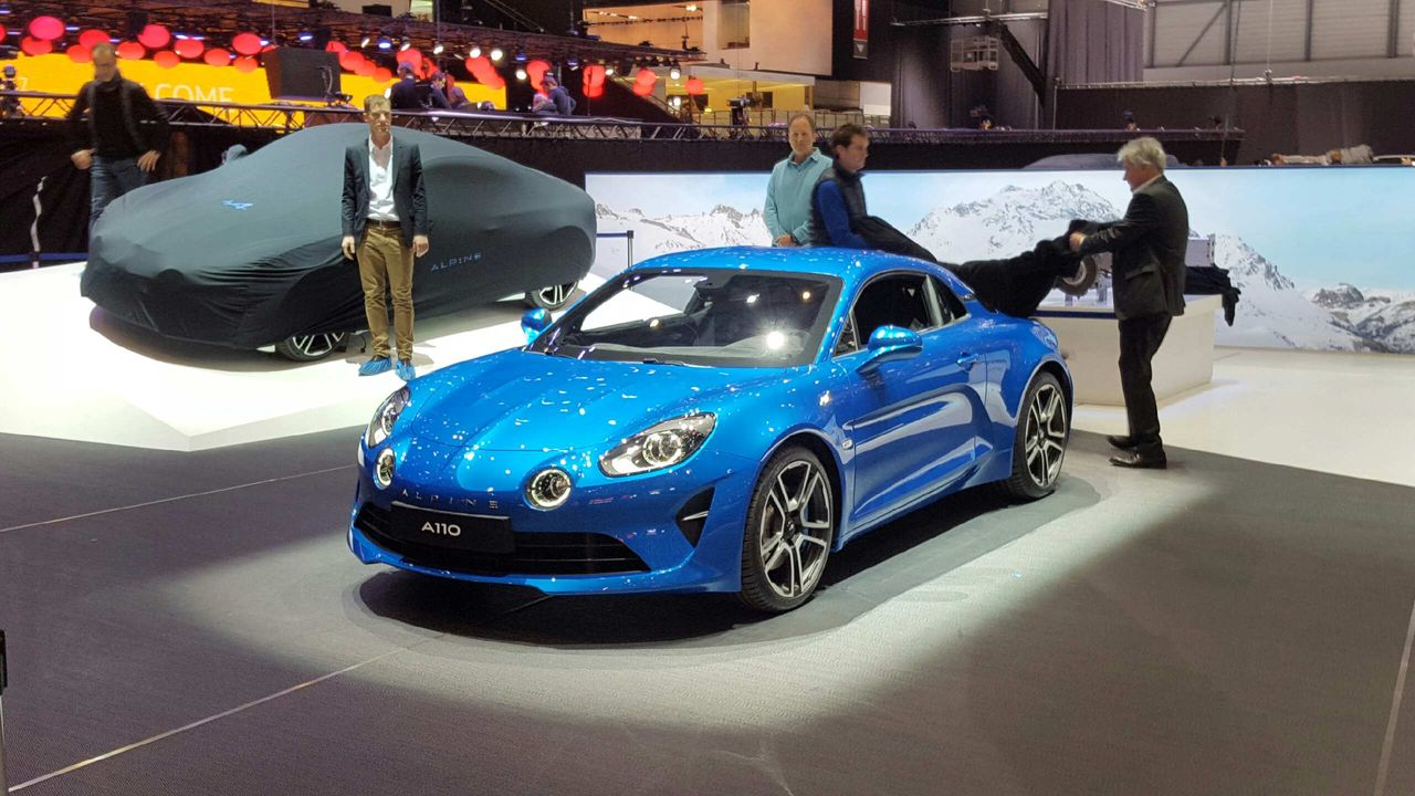 exclusif les premi res images de la nouvelle alpine a110 2017 gen ve photo 7 l 39 argus. Black Bedroom Furniture Sets. Home Design Ideas