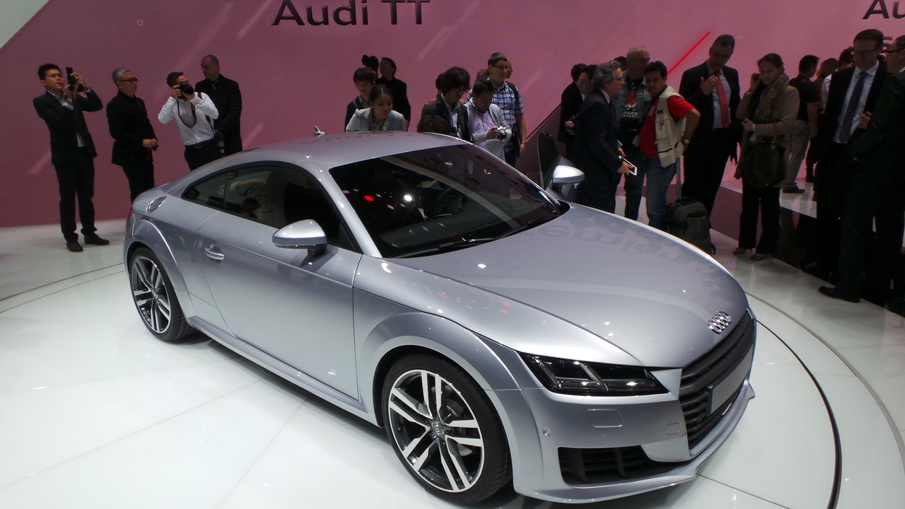 audi tt nouvelle audi tt 2014 nos premi res impressions en vid o salon de gen ve 2014. Black Bedroom Furniture Sets. Home Design Ideas