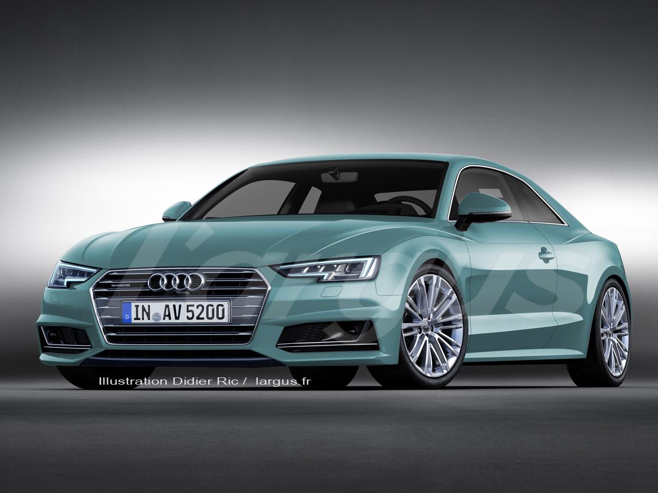 Exclusif Nouvelle Audi A5 (2016) : premières infos sur le coupé Audi - L'argus