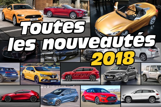 toutes les nouveaut s automobiles 2018 l 39 argus. Black Bedroom Furniture Sets. Home Design Ideas
