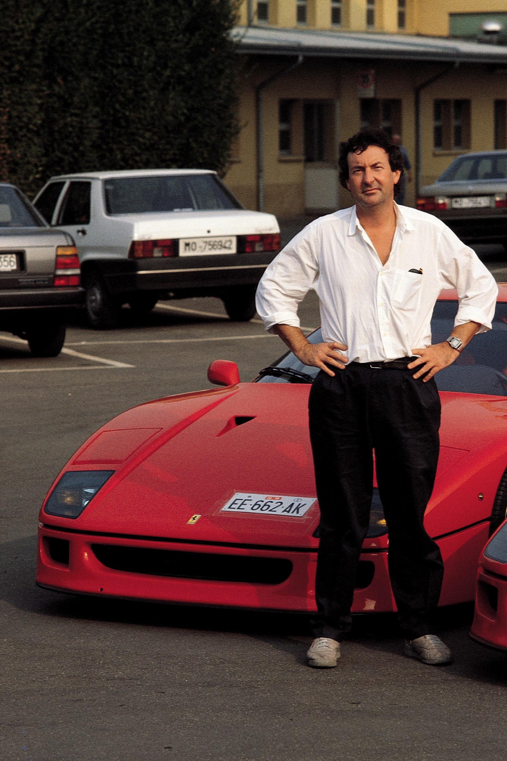 1987 2017 La Ferrari F40 F 234 Te Ses 30 Ans Photo 15 L