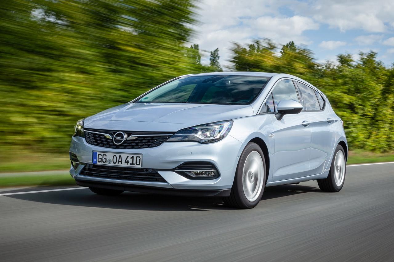 Opel Astra Wagon Varoitus