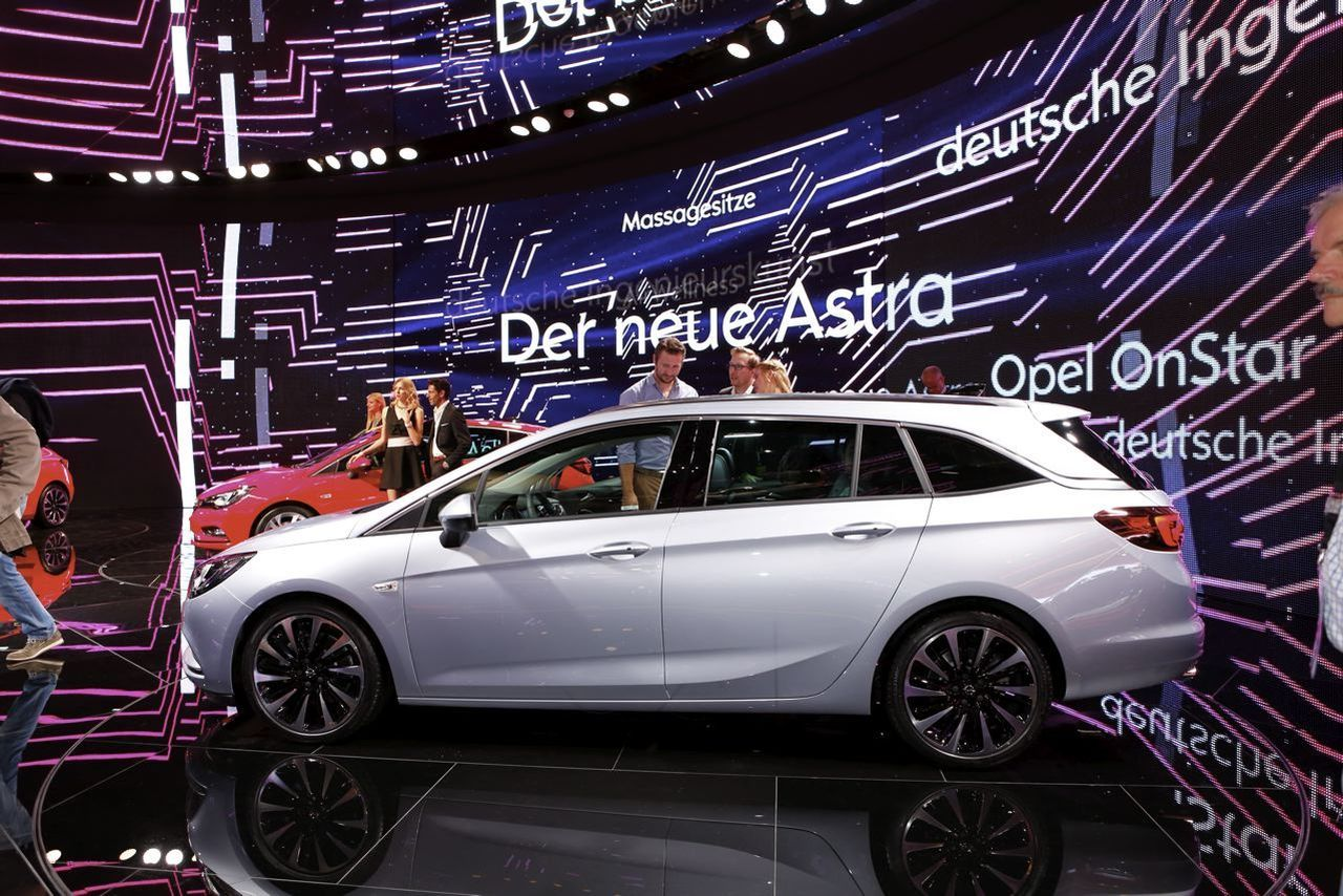 Opel Astra Sports Tourer 2016 : le nouveau break Astra à Francfort