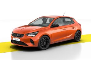 Opel Corsa Design & Tech orange