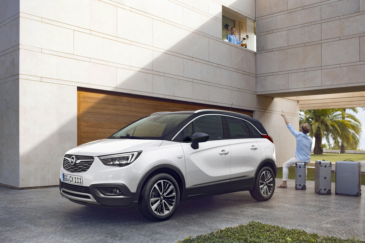 opel crossland x toutes les infos sur le clone du citro n c3 aircross photo 1 l 39 argus. Black Bedroom Furniture Sets. Home Design Ideas