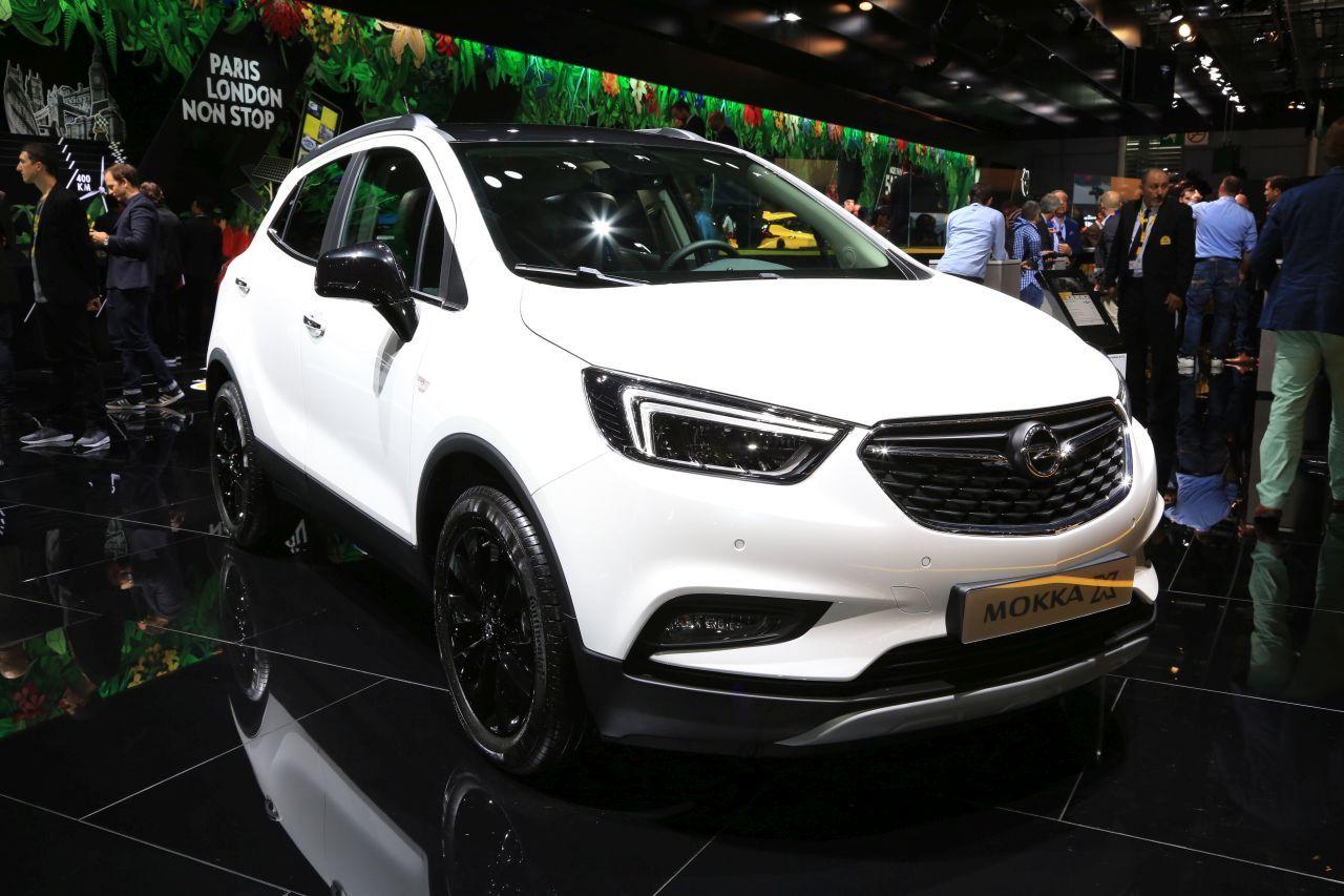 Mondial paris 2016 les nouveaut s allemandes en images for Opel mokka x interieur