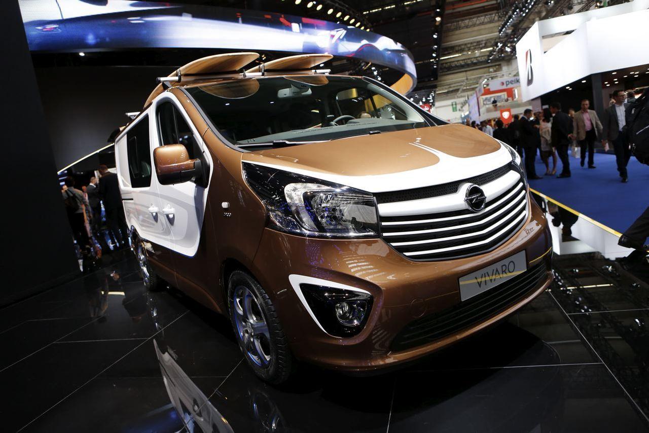 Berühmt Opel Vivaro Surf Concept : paré pour la vague ? - L'argus WY09