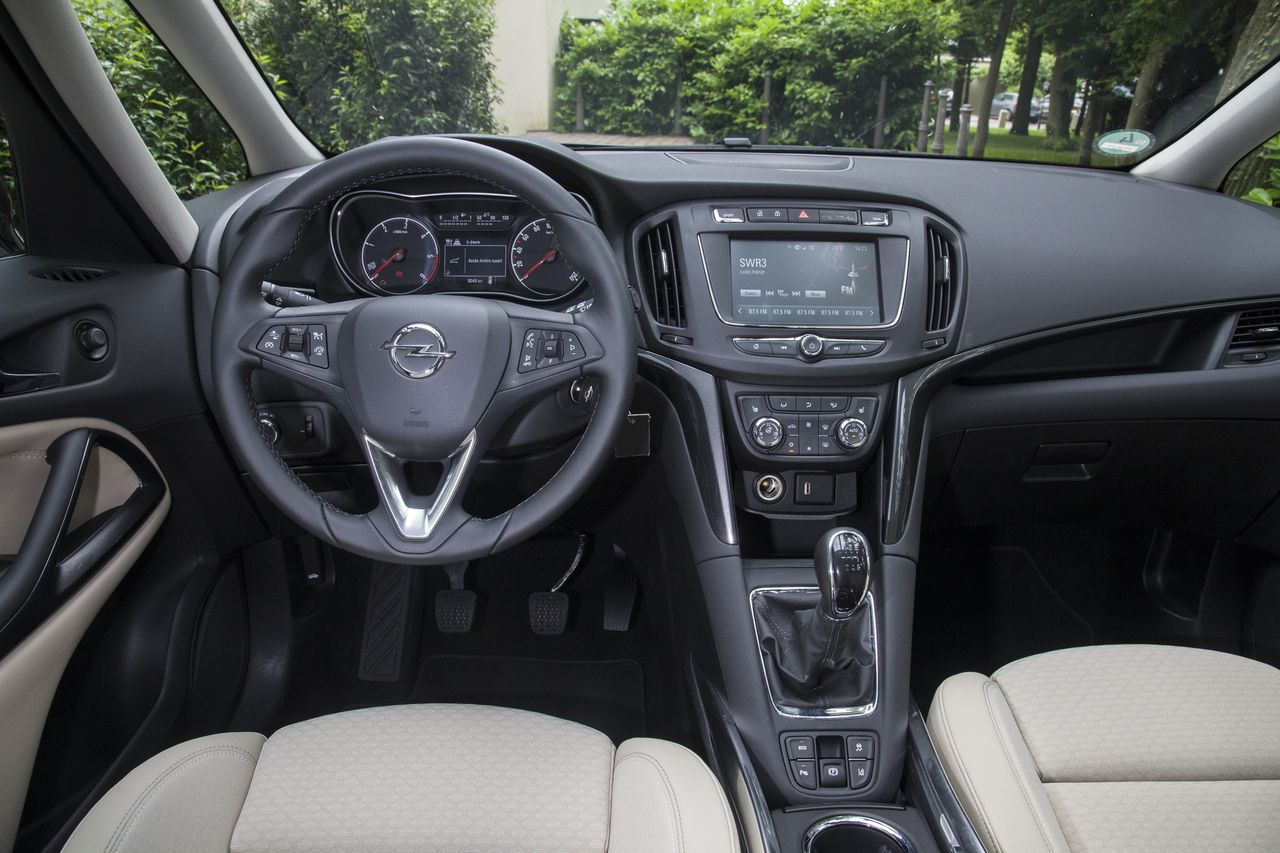 Essai Opel Zafira restylé 2016 : toujours le plus ...
