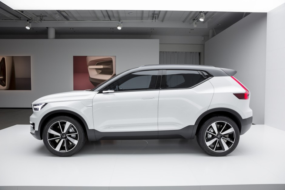 volvo xc40 premier teaser photo 8 l 39 argus. Black Bedroom Furniture Sets. Home Design Ideas