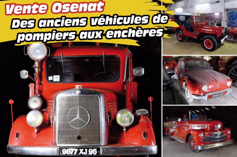 des anciens v hicules de pompiers mis en vente aux ench res les v hicules de pompiers de la. Black Bedroom Furniture Sets. Home Design Ideas