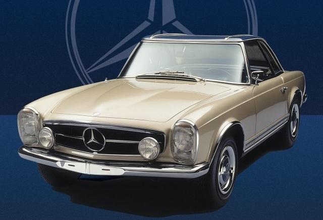 livre l 39 histoire de la mercedes pagode voitures anciennes auto evasion forum auto. Black Bedroom Furniture Sets. Home Design Ideas
