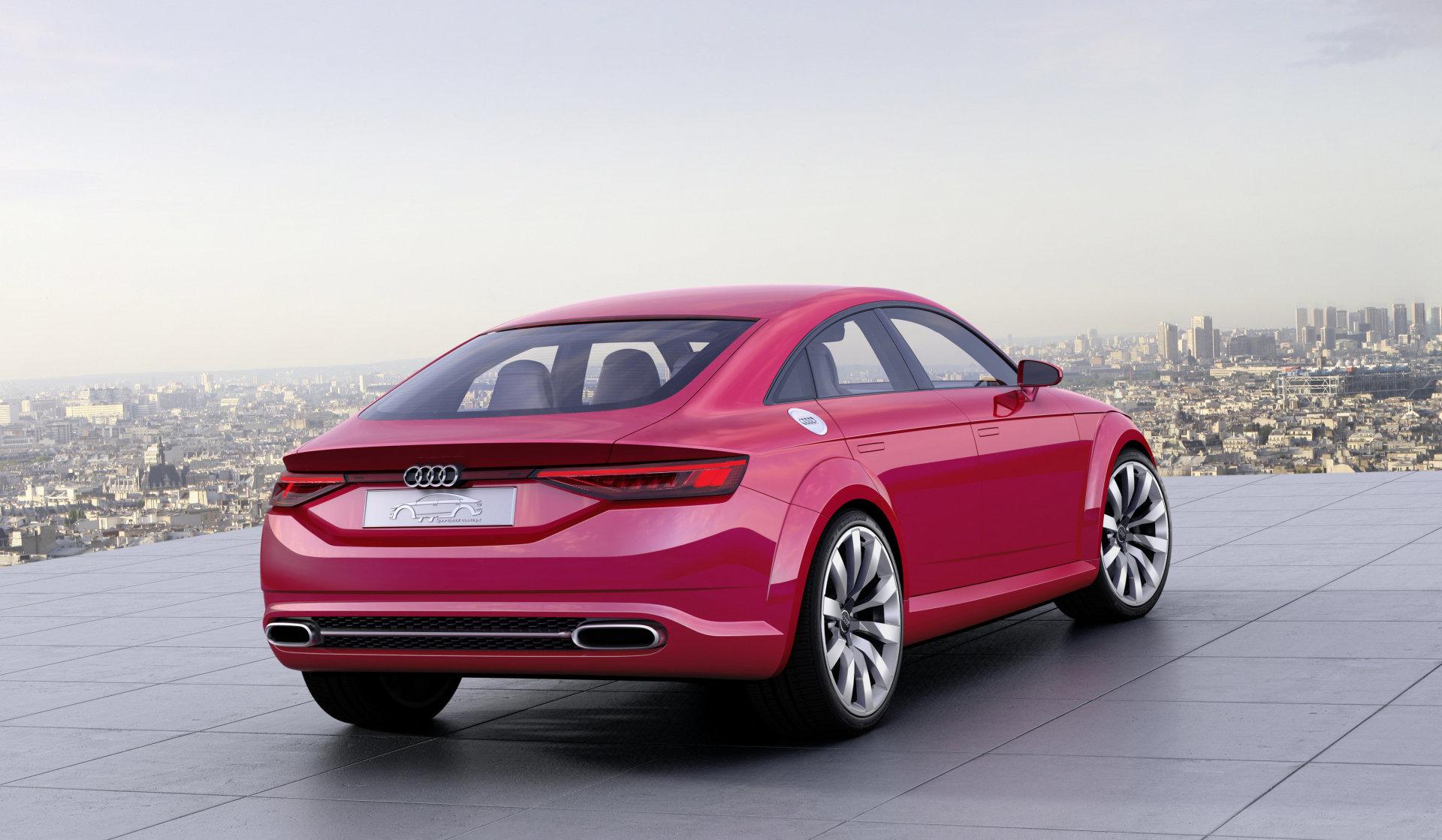 Audi TT 4 (2022) : un coupé à quatre portes uniquement