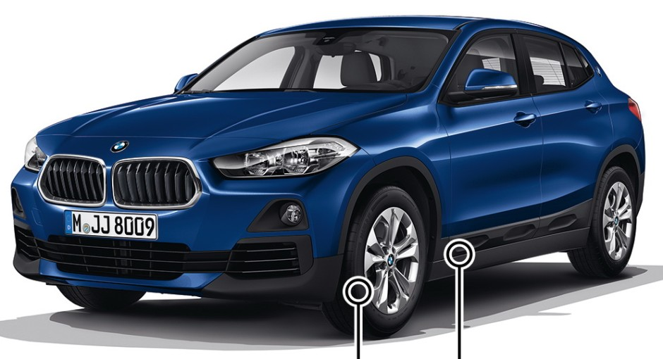 bmw x2 d couvrez le nouveau suv bmw en images photo 7 l 39 argus. Black Bedroom Furniture Sets. Home Design Ideas