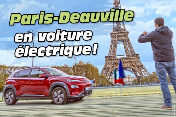 Hyundai Kona Fiche Technique >> Essai Hyundai Kona EV : Paris-Deauville en voiture électrique - L'argus