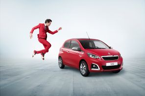 peugeot 108 collection mika rouge