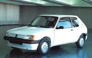 Peugeot 205 électrique 1984