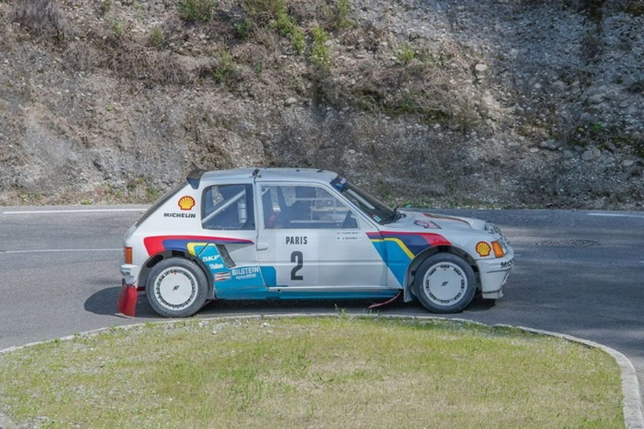 la peugeot 205 t16 d 39 ari vatanen vendre aux ench res photo 3 l 39 argus. Black Bedroom Furniture Sets. Home Design Ideas