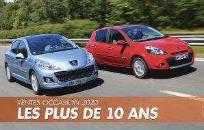 Renault Clio 3 et Peugeot 207 occasion