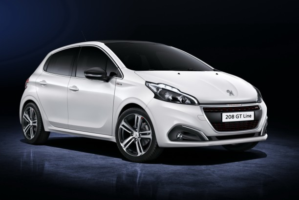 peugeot 208 gt line 2015 une nouvelle finition au look de gti l 39 argus. Black Bedroom Furniture Sets. Home Design Ideas
