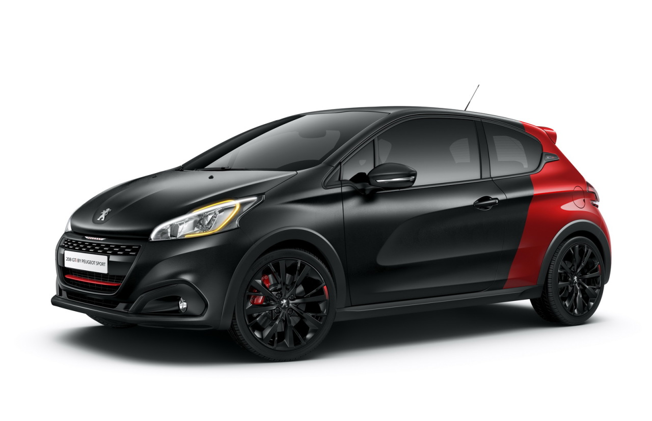 peugeot 208 gti by peugeot sport elle remplace la 208 gti 30th peugeot auto evasion. Black Bedroom Furniture Sets. Home Design Ideas