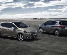 De nouvelles peintures textur�es pour la Peugeot 208 restyl�e