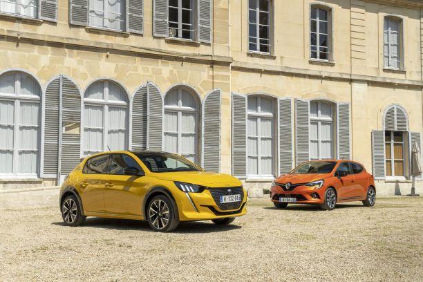 Peugeot 208 2 Vs Renault Clio 5 Premier Duel Pour Les Stars
