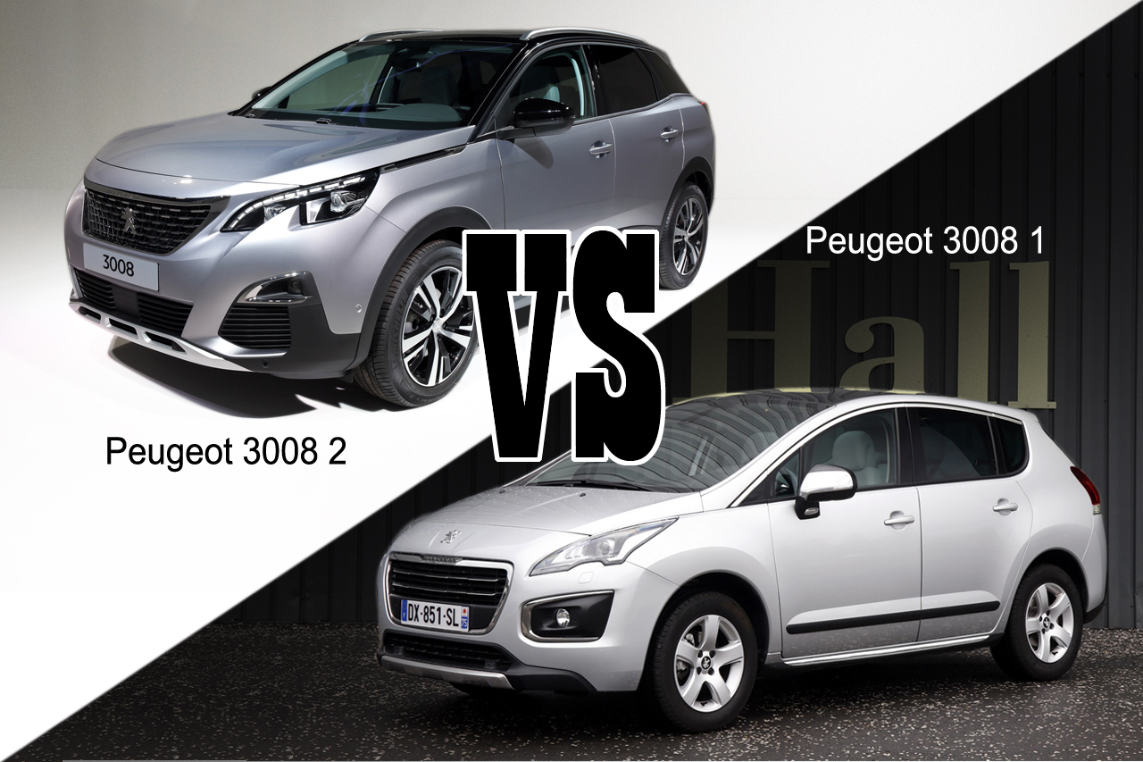 peugeot 3008 vs peugeot 3008 2 les diff rences en vid o l 39 argus. Black Bedroom Furniture Sets. Home Design Ideas