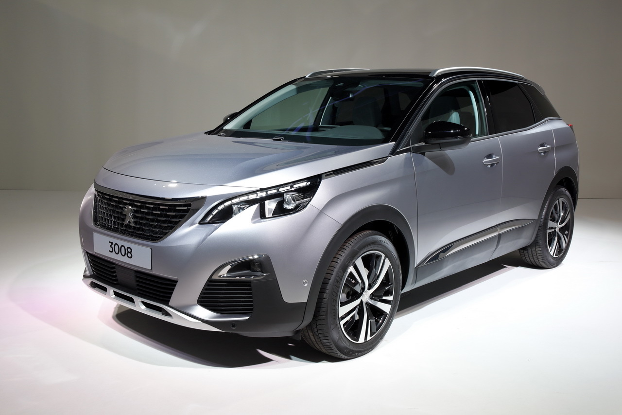 2017 peugeot 3008 revealed reimagined in its second generation as a stylish. Black Bedroom Furniture Sets. Home Design Ideas