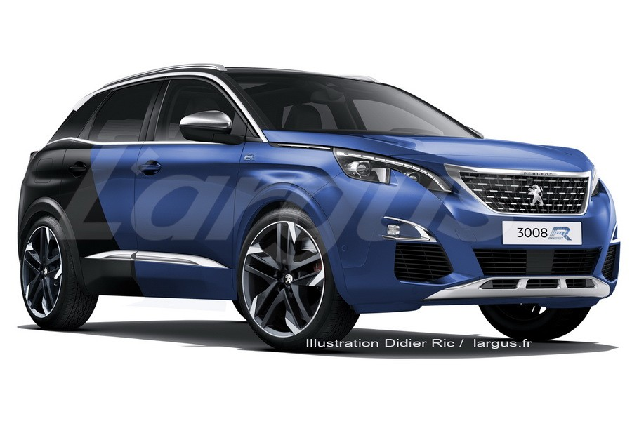 peugeot 3008 une version r hybrid de 300 ch en 2019 photo 4 l 39 argus. Black Bedroom Furniture Sets. Home Design Ideas