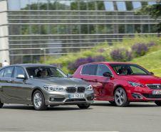 essai BMW 116d face à Peugeot 308 hdi