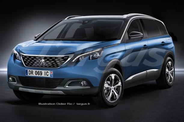 Nouveau Peugeot 5008 (2017) : plus qu'un 3008 à 7 places ...