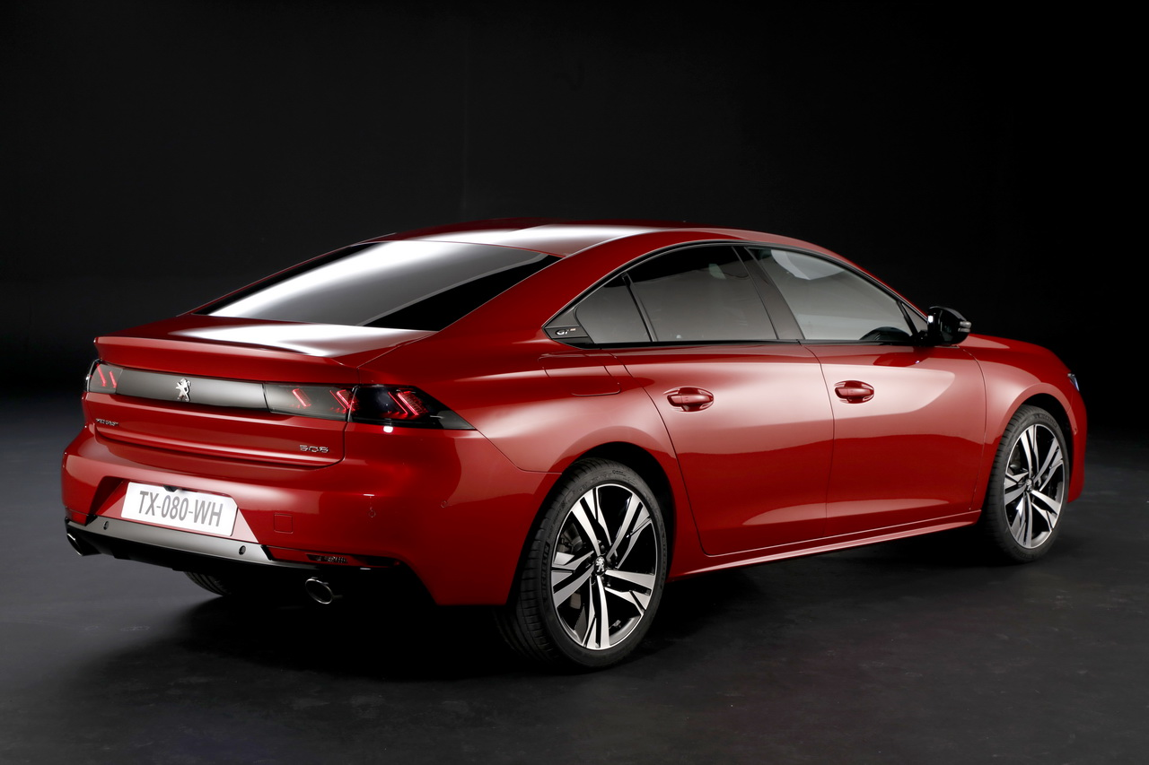 2018- [Peugeot] 508 II [R82/R83] - Page 2 Peugeot-508-2-2018-02
