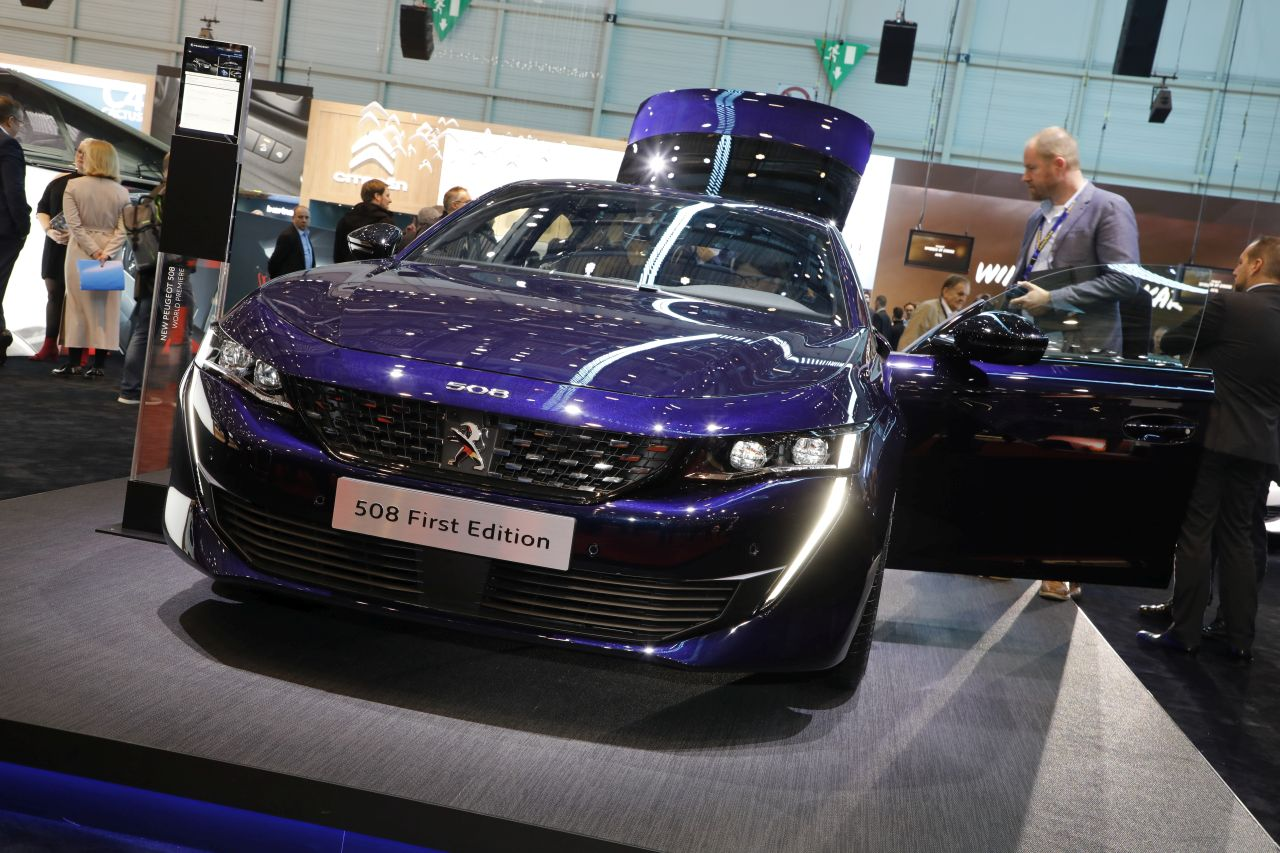 peugeot 508 allure gt line and first edition finishes in. Black Bedroom Furniture Sets. Home Design Ideas