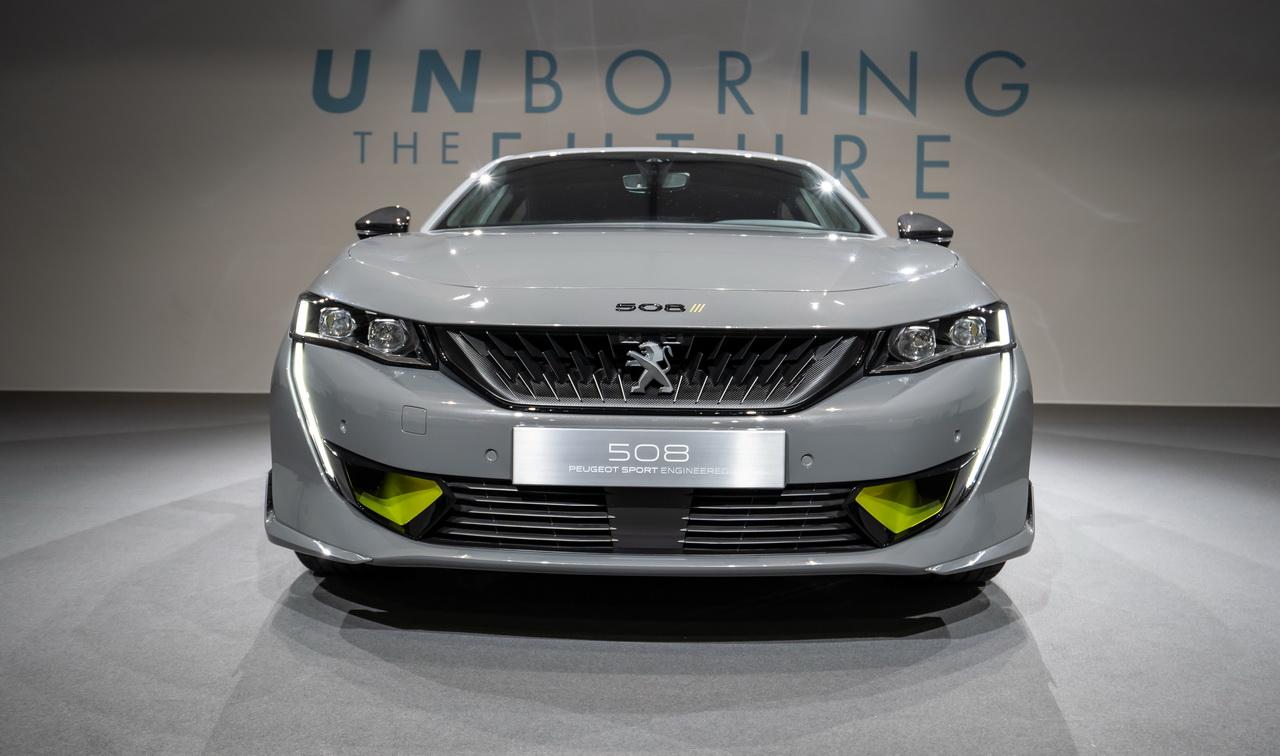 Concept 508 Peugeot Sport Engineered. Un hybride de 350 ch pour 2020