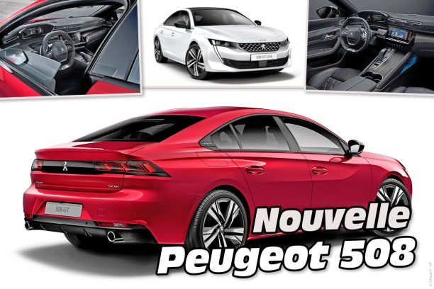 peugeot 508 2 2018 la nouvelle berline 508 en d tail l 39 argus. Black Bedroom Furniture Sets. Home Design Ideas