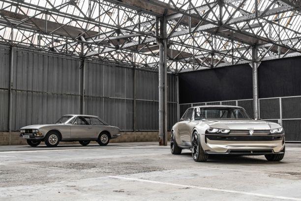 Peugeot E Legend Concept La 504 Coupe Du Futur L Argus