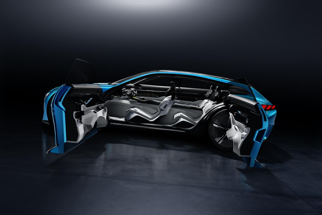 gen ve 2017 peugeot instinct concept la voiture autonome. Black Bedroom Furniture Sets. Home Design Ideas