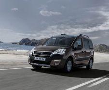 Prix gamme Peugeot Partner Tepee restyl� 2015