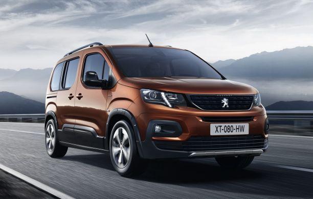 Peugeot Rifter 2018 Infos Et Photos Exclusives Du Nouveau Partner
