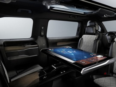 Peugeot Traveller i-Lab : en classe affaires