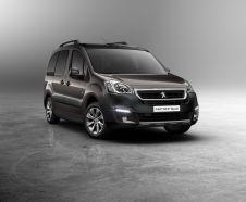 nouveau Peugeot Partner 2015 vue avant ludospace peugeot