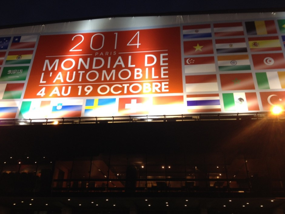 Live salon auto de paris le pr sident hollande est au - Le plus grand salon automobile du monde ...