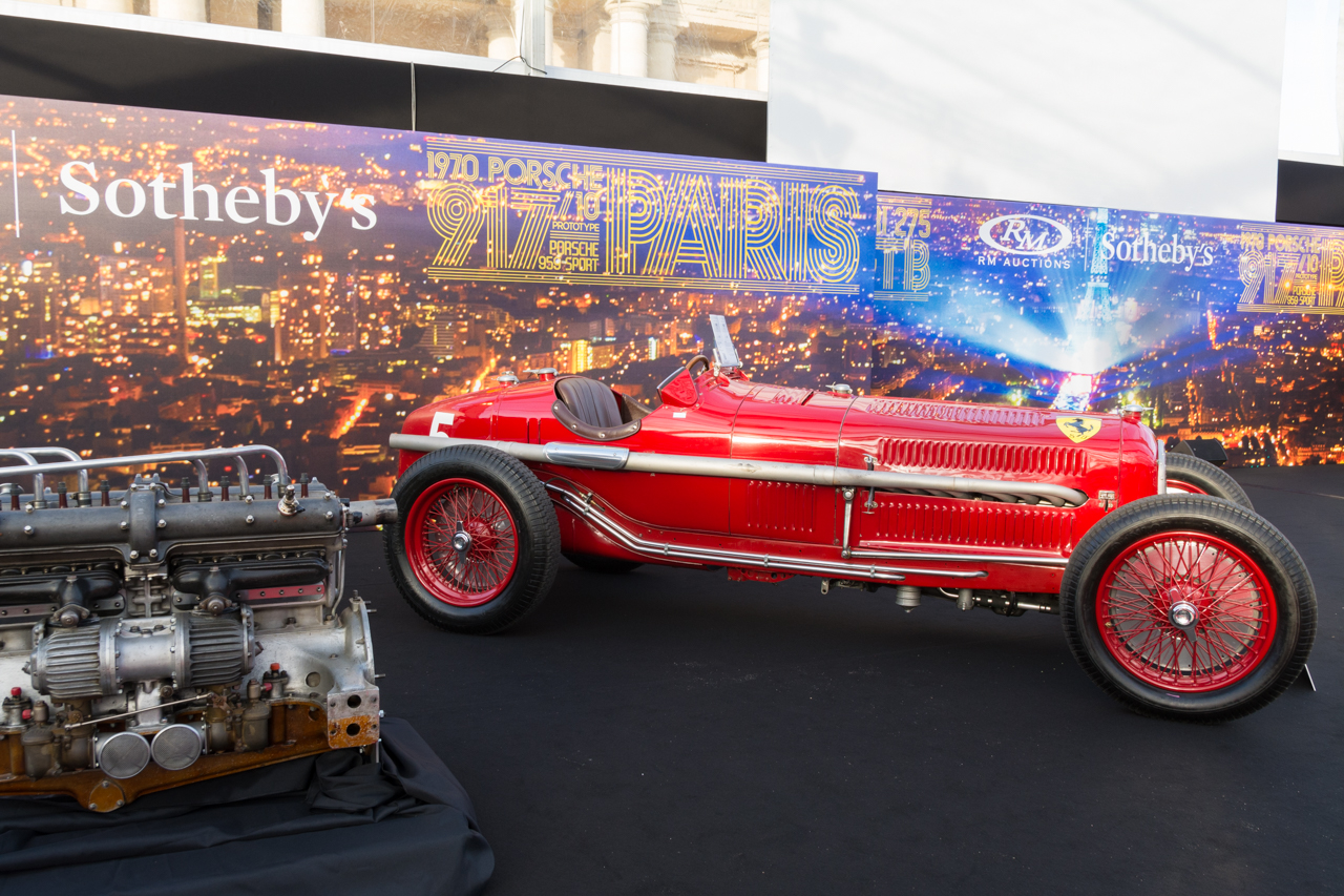 nos photos de la vente aux ench res rm sotheby 39 s 2017 paris alfa romeo tipo b p3 de 1934 l. Black Bedroom Furniture Sets. Home Design Ideas