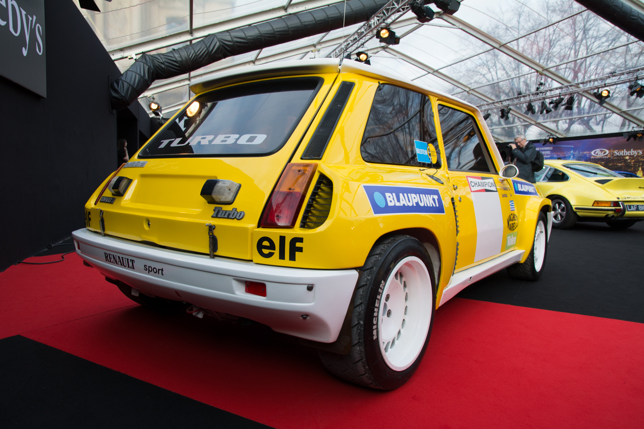 nos photos de la vente aux ench res rm sotheby 39 s 2017 paris renault 5 turbo goupe b de 1982. Black Bedroom Furniture Sets. Home Design Ideas