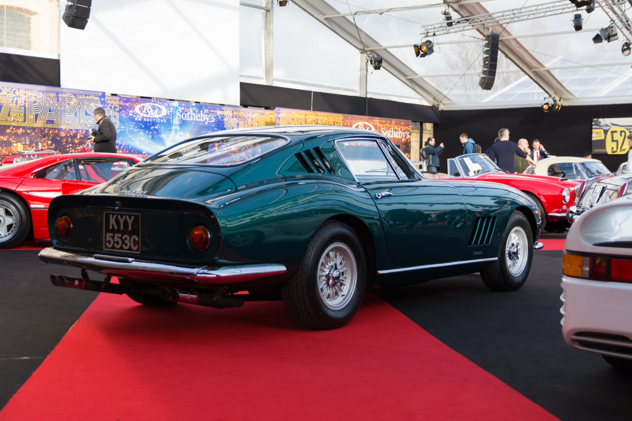 nos photos de la vente aux ench res rm sotheby 39 s 2017 paris ferrari 275 gtb de 1965 l 39 argus. Black Bedroom Furniture Sets. Home Design Ideas