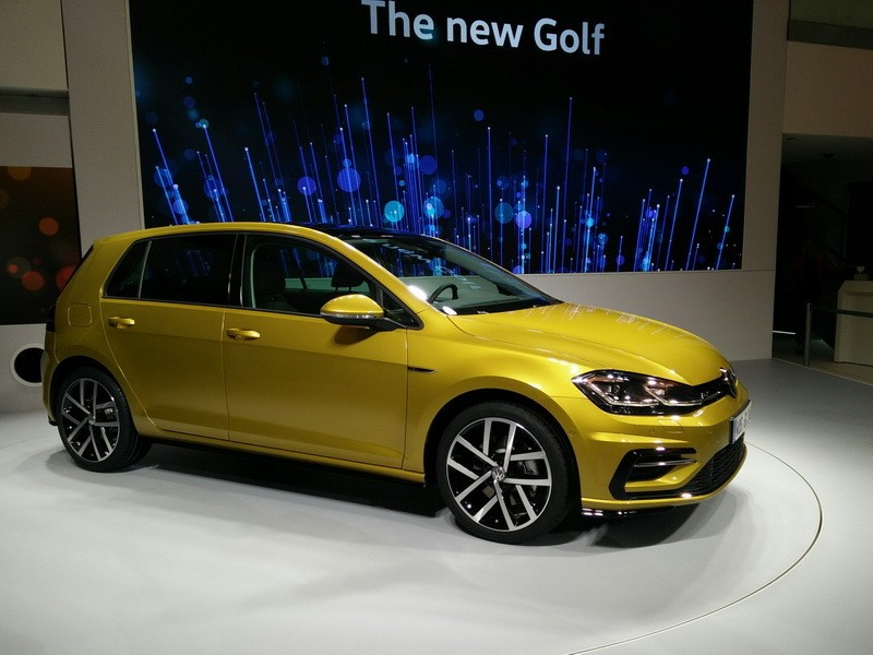 volkswagen golf 2016 la r v lation de la nouvelle golf. Black Bedroom Furniture Sets. Home Design Ideas