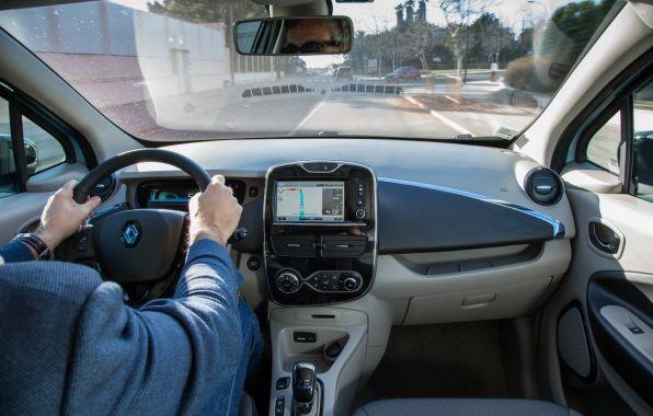 Au volant Renault Zoé